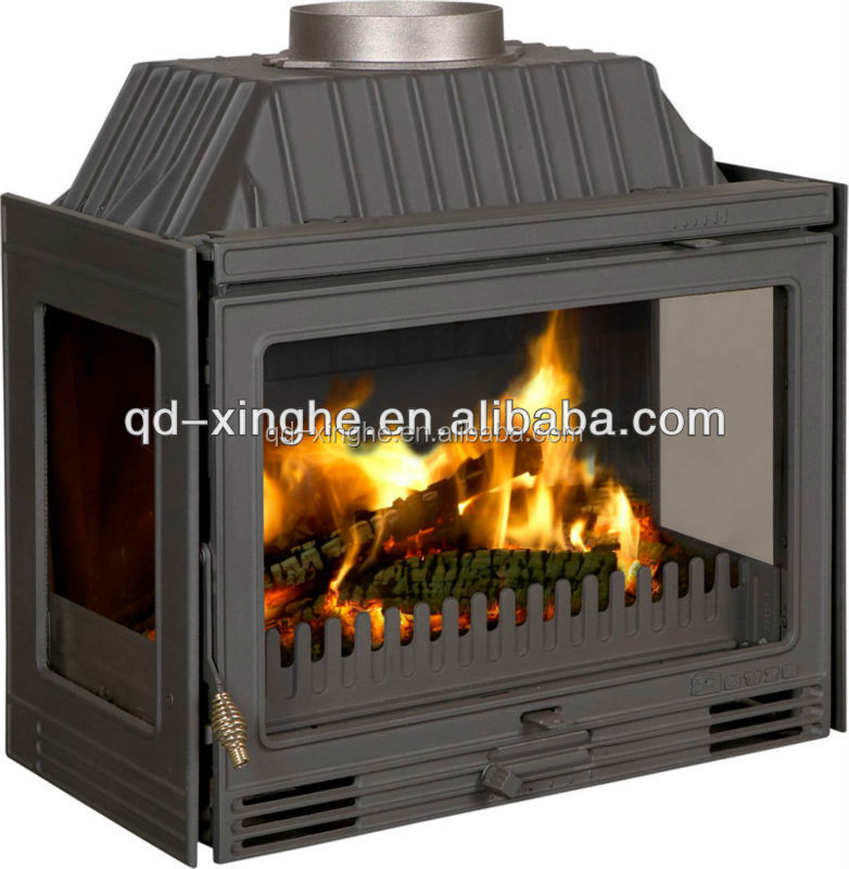 2016 HOT SALE wood cook stove wood burning stove cast iron fireplace door