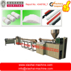 White lollipop pp plastic stick making machinery with gathering device