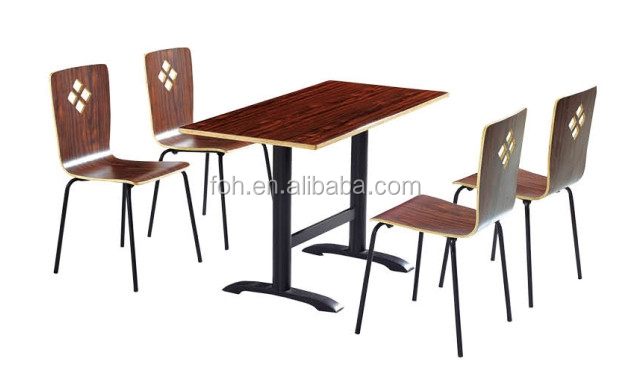 Mexican Restaurant Furniture Walnut Color for Franchise Restaurant(FOH-BC20)