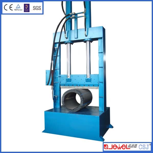 Good price with CE certificate full-automatic hydraulic rubber bale cutter