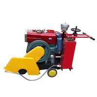 Quality automatic walk behind diesel concrete cutter