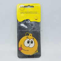 Customized Size Scent Perfume Hanging Paper Car Air Fresheners