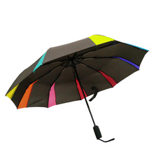 Unique Design 9 ribs Unbreakable Umbrella with Dupont Teflon