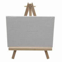 Good quality small wooden tripod easel