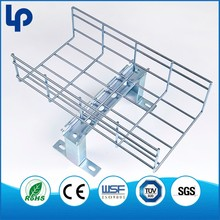 Hot Dipped Galvanizing electric wire mesh cable tray