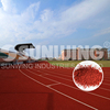colored epdm rubber granules flooring for running track