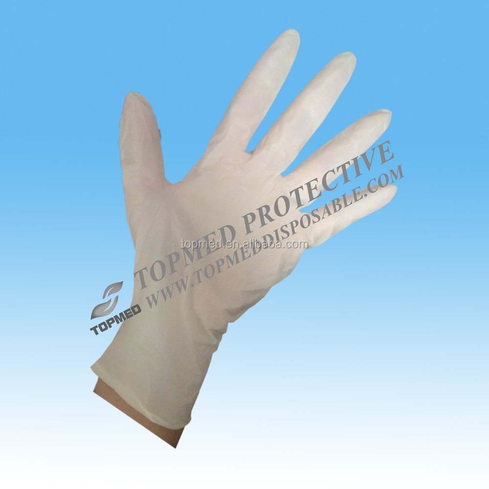 Clear cheap Powdered disposable vinyl gloves manufacturers for hospital/hotel/kitchen use