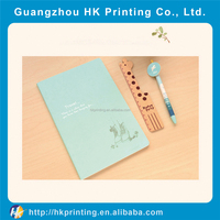 high quality clear paper notebook making book