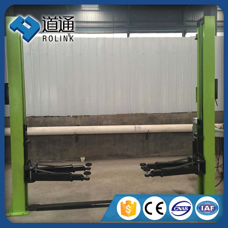 service station equipment hydraulic two post car lift for car wash