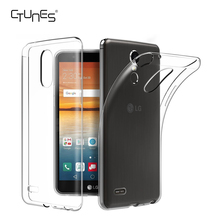 For LG Stylus3 /LG Stylo3 Case, Soft TPU Case Crystal Clear Transparent Slim Anti Slip Case Back Protector Cover for LG Stylus 3