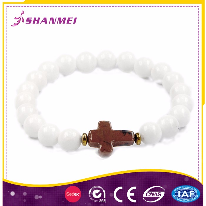 Strict Quality Control Factory Cross Shape Jade Bracelet Chinese