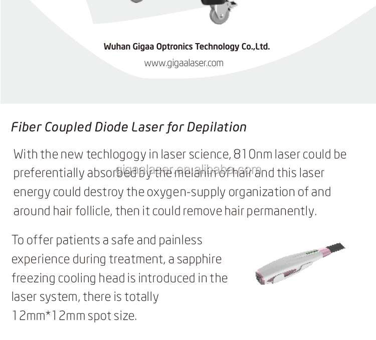 top rated laser hair removal machines/810nm diode laser machine