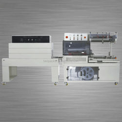 BSL-560 automatic film wrapping machine tea pouch packing machine box cut seal shrinking machine