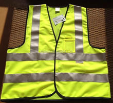 fluo yellow or orange 3m high visibility safety clothing