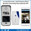 Alibaba new design wifi ring bell door camera video door phone multi apartment security video system TL-WF02