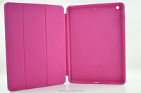 Deluxe PU leather case for iPad Air with stand function factory price