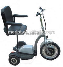 New design three wheeler standing up classic car/electric golf cart with big front tire