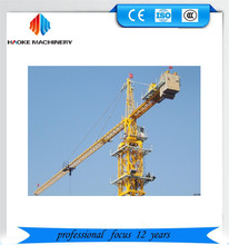 2017 QTZ Series traveling tower crane with good lifting capacity