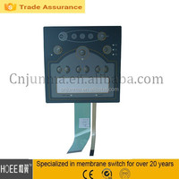 Hot Universal Popular Controller Membrane Switch PVC Foil Keyboard