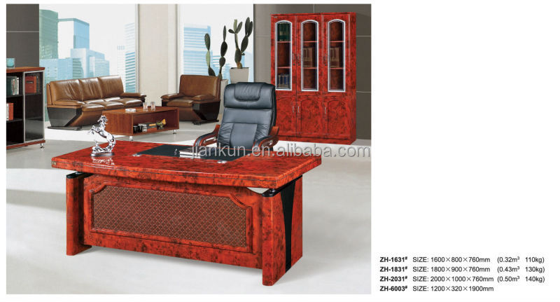executive wooden general manager table design