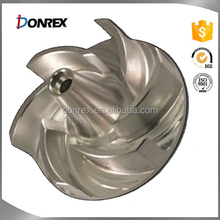 OEM service iron and stainless steel casting impeller for water pump