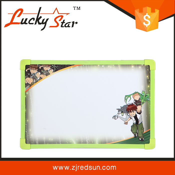 2015 red sun lucky star high quality magic magnetic white drawing board toys for kids and children for sale