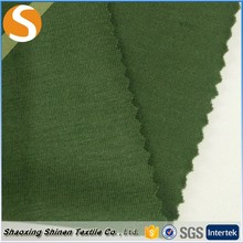 Polyester rayon color soft single knit stretch jersey fabric sales