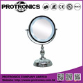 JM935 LED lighting mirror table mirror standing mirror double side magnifying