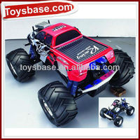 Double engine rc 3 speed gas car