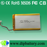 EXW price 3 cell 5000mah lipo battery 5000mah 11.1 volts