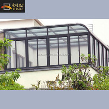 New design low cost decorating sunrooms balcony glass sun room