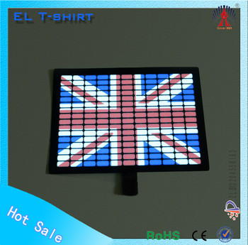 Rock music el t-shirts flashing equalizer design tshirt el t-shirt cheap