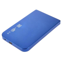 USB 2.0 2.5 inch SATA Hard Drive Disk Enclosure Aluminum HDD External Case Box