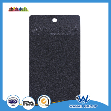 Indoor black texture powder coat black sand grain powder paint WA4993