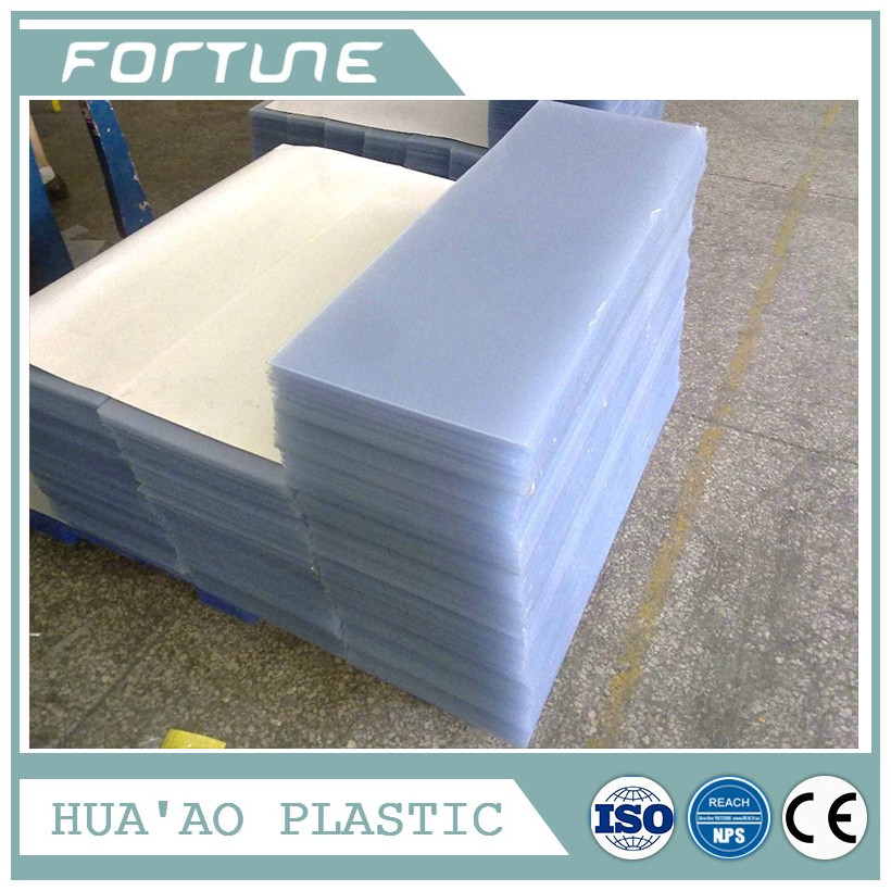 PLASTIC METALIZED RIGID PVC FILM USED FOR CRAFT BOX
