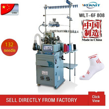 WLT-6F808 commercial sock knitting machine for sale