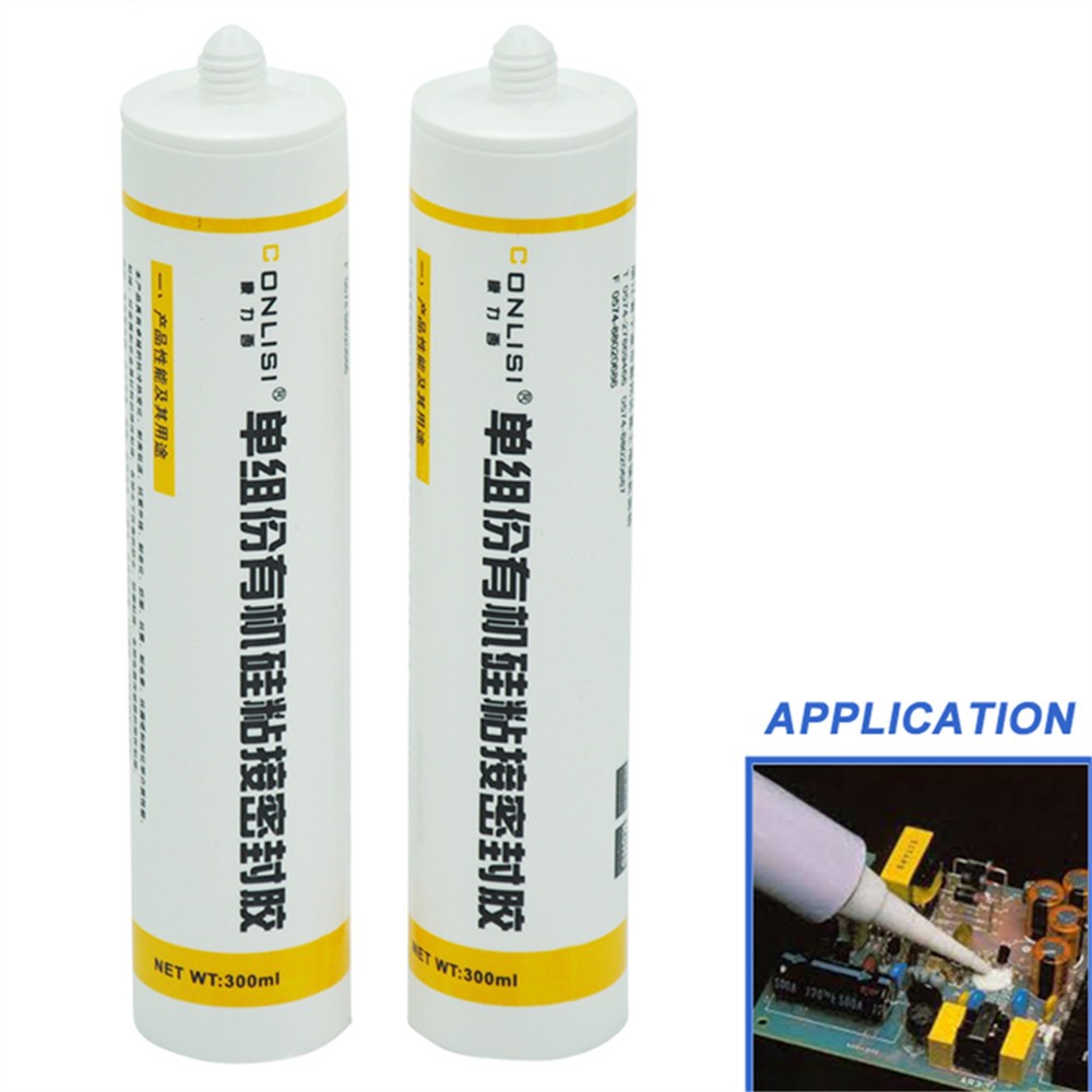 Certificated RTV silicone removable adhesive sealant for electronic components and LED