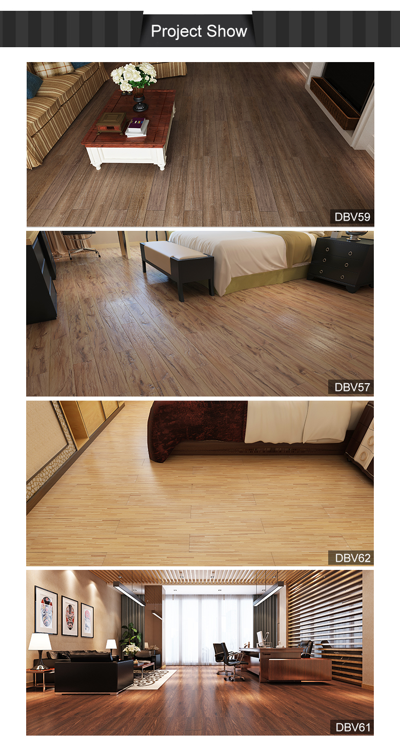 Popular Sales Anti-slippery Recycled Plastic Flooring Pvc Vinyl Plank