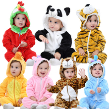 Custom cute boy clothes animal romper for baby