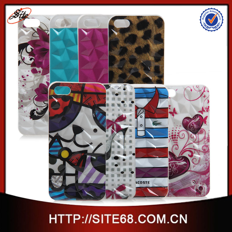 New Inventions Cover for Apple Iphone 5, Tpu Cover for iphone 5 with Factory Price