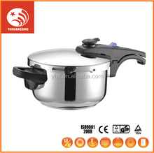Quick Rice Cooking Resistant Aluminum Stainless Steel Pressure Cooker