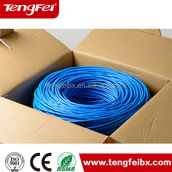 305M/Roll UTP 4PR Internet Cable Box LAN Cable 5E Kabel UTP Cat5e Indoor Cat5e Cable LAN KABEL