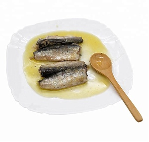 Canned sardine in vegetable oil 125g