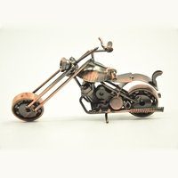 Top selling products 2015 unique motorcycle model new design iron motorbike model vintage fashion gift for friend