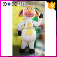 China manufacture inflatable sheep doll cartoon decoration for event suppliers