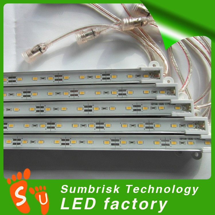 China factories supply SMD 5630 72led meter Hard article lamp