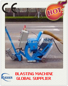 Asphalt pavement blasting machine