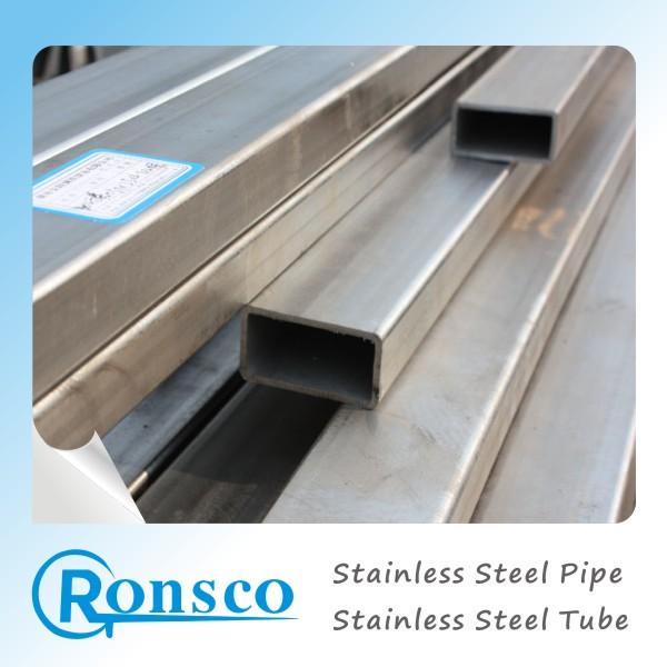 Ronsco stainless steel rectangular tube square pipe
