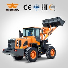 Road construction equipment 3 t wheel loader YX635 with big cabin and new design hydraulic system
