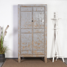 replica reclaimed recycled wooden clothes cabinet wardrobe